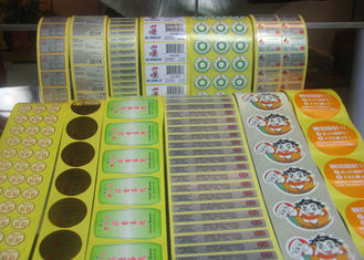 Greaseproof Food Label Stickers , Adhesive Food Labels For Fruits / Vegetables